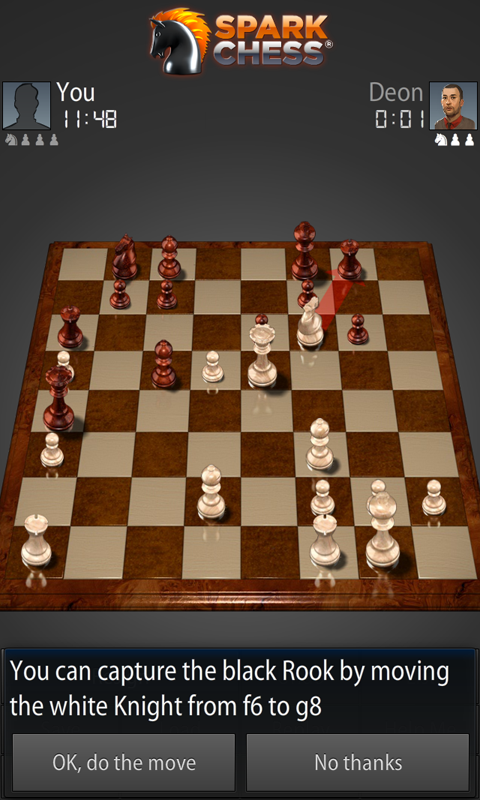 SparkChess - screenshot
