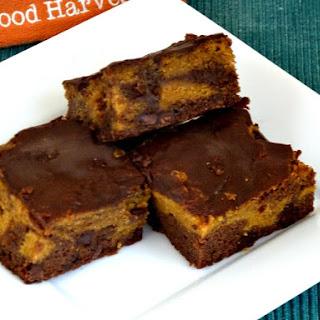 Pumpkin Brownies.