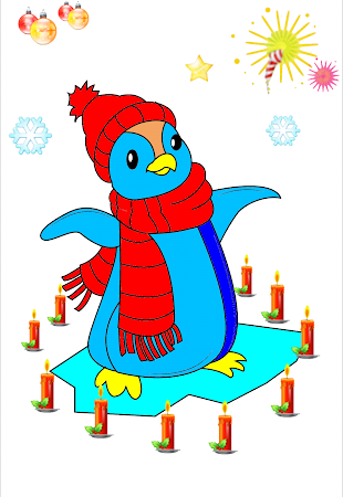 Coloring Christmas - Kids game 1.5 screenshot 513280