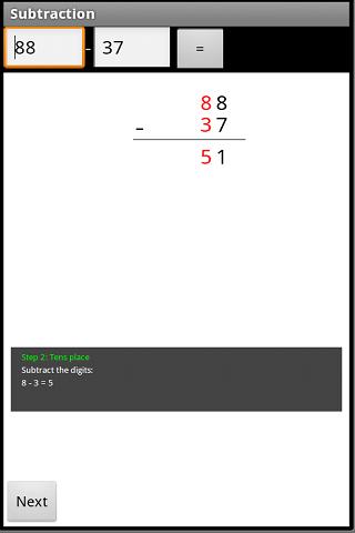 Visual Math Quiz- screenshot