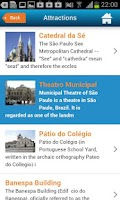 Screenshot of Sao Paulo Guide Map & Hotels