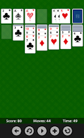Screenshot of Solitaire Classic