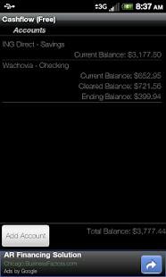 Cashflow (Free)- screenshot thumbnail