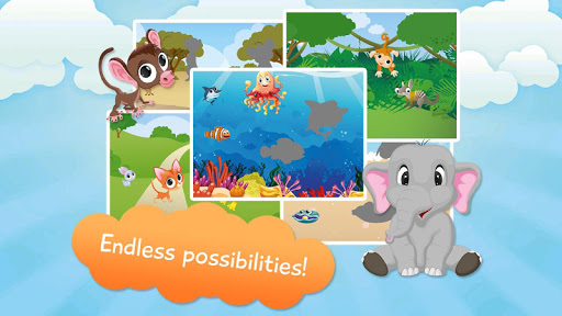 Free Animals Puzzles for Kids