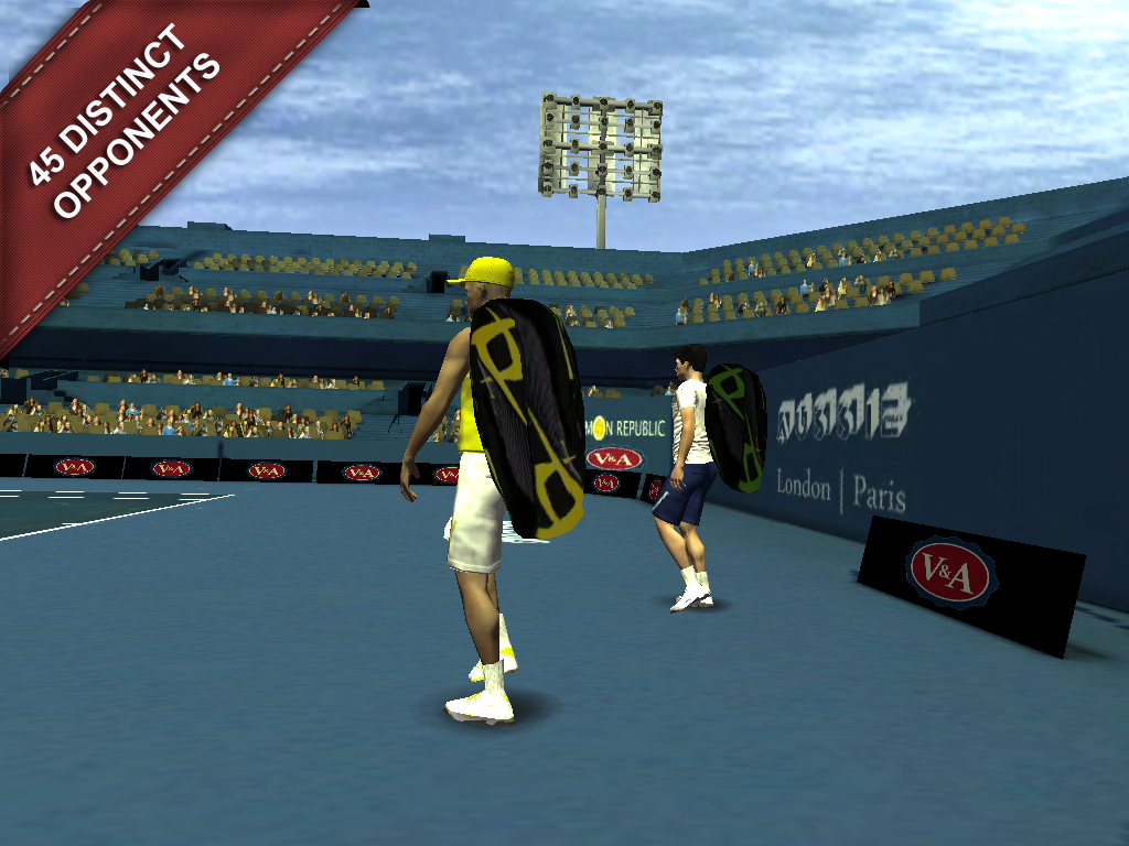Cross Court Tennis 2- screenshot