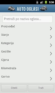 Auto Oglasi screenshot 2