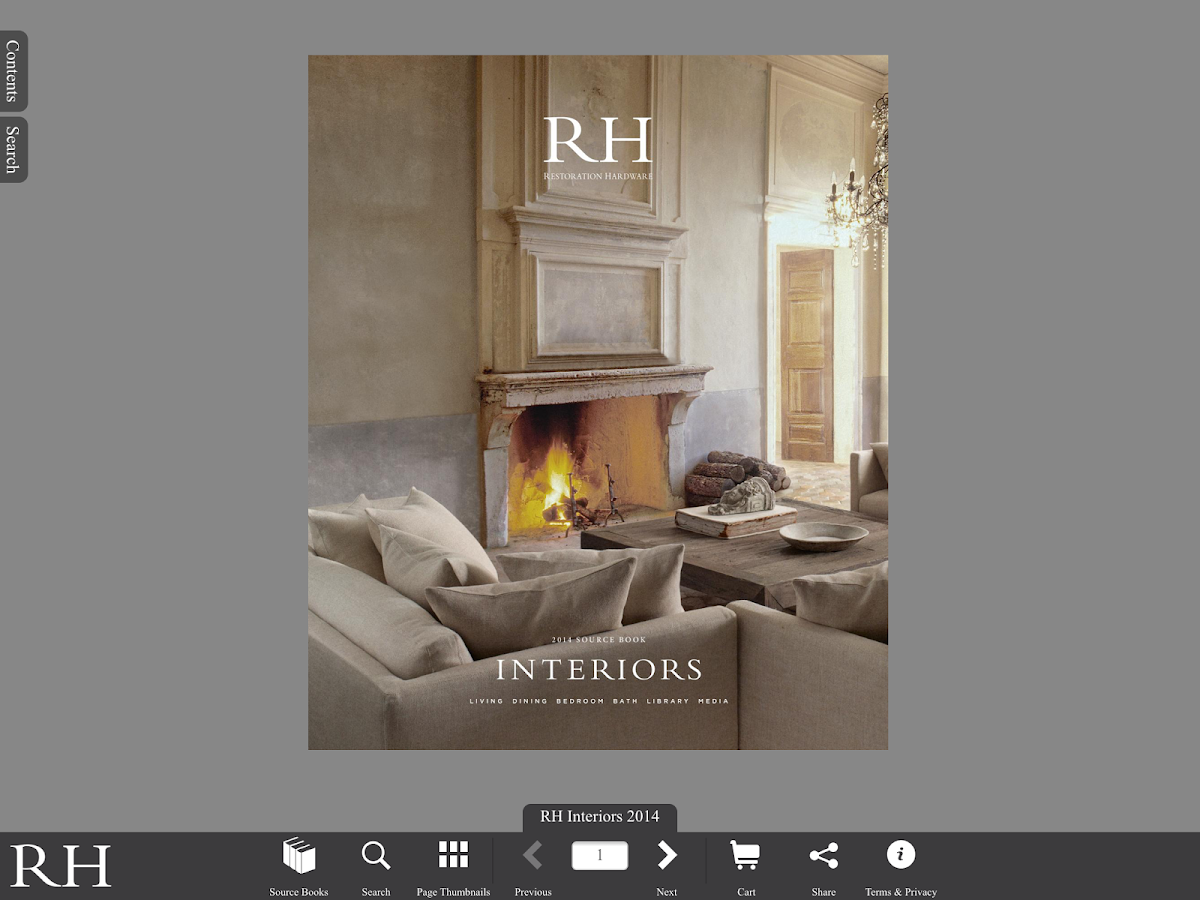 Restoration Hardware - screenshot