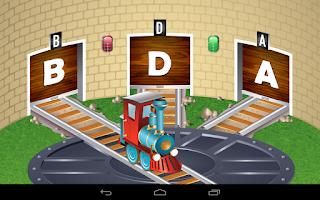 Screenshot of Kids ABC Letter Trains