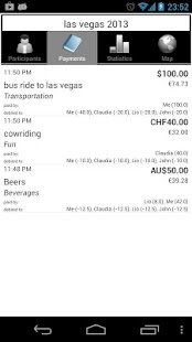 Travel Money - Share Expenses - screenshot thumbnail