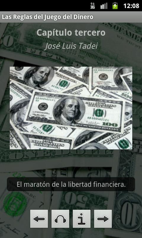 Reglas del Juego del Dinero - screenshot