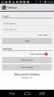 mGallery - screenshot thumbnail