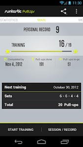 Runtastic Pull-ups Workout PRO v1.8