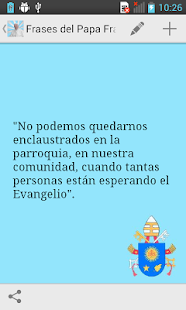 Frases del Papa Francisco- screenshot thumbnail