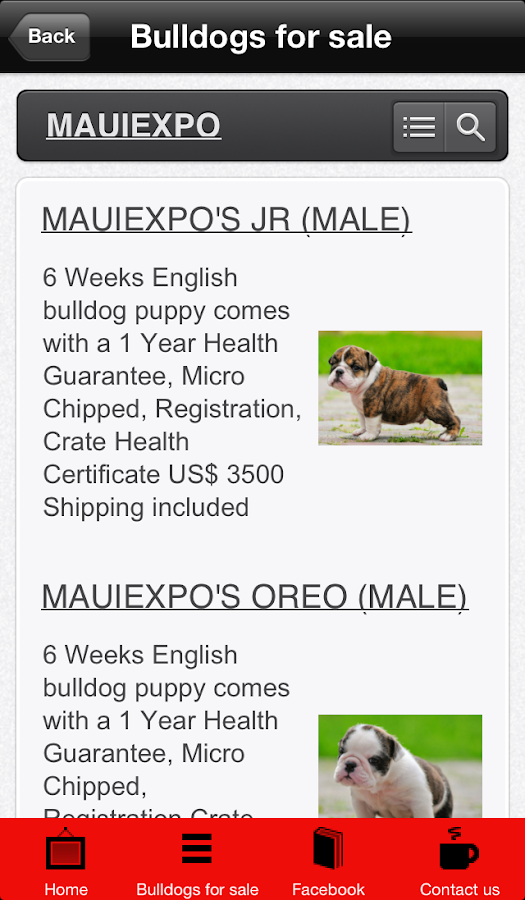 Mauiexpo - screenshot
