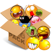 Emoticons pack, Yellow cute
