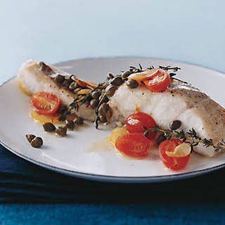 Sea Bass in Papillote.
