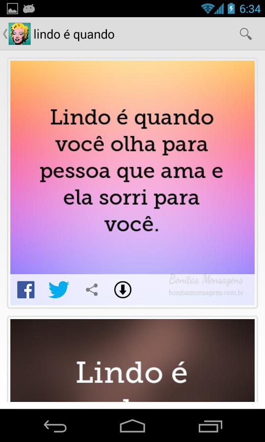 Frases e Mensagens - screenshot
