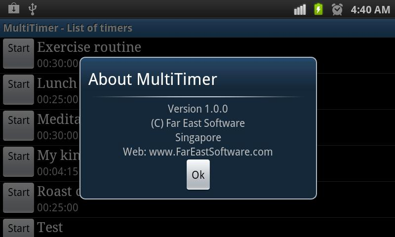 Multi Kitchen Timer (Lite)- screenshot