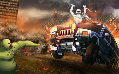 Monster Car Hill Racer Screenshot 1