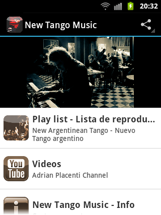 New Tango Music