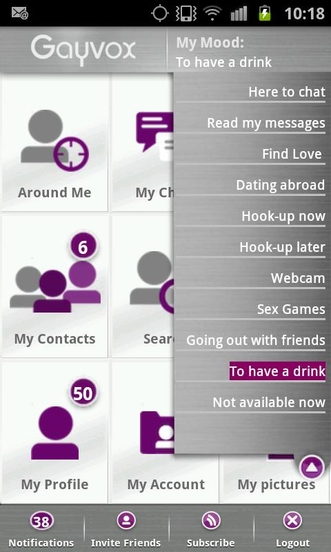 Gayvox - Gay Lesbian Bi Dating - screenshot