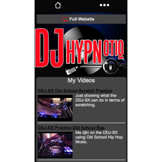 The DJ Hypnotiq Mobile App