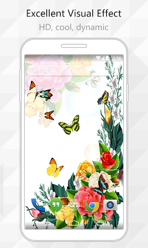 Butterfly One Live Wallpaper