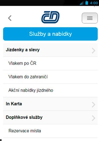 【免費交通運輸App】České Dráhy-APP點子