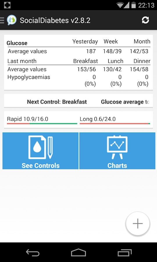 Social Diabetes- screenshot