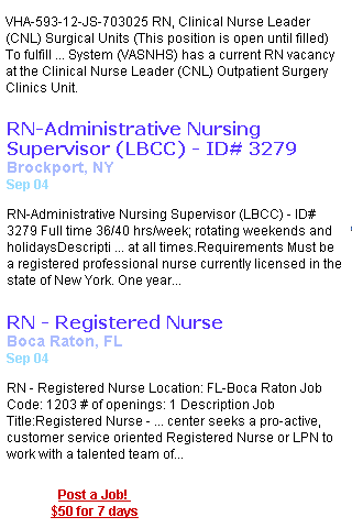 Jobs For Travel Nurses - screenshot