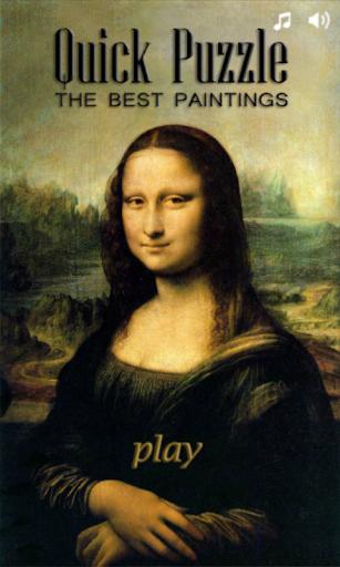 Quick Puzzle - Best Paintings