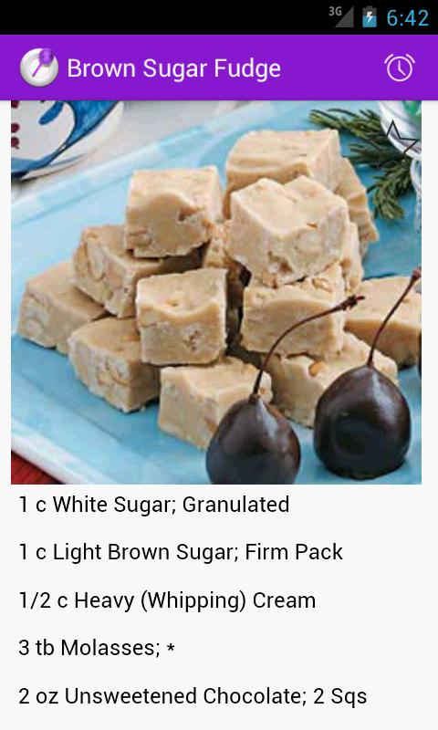 Homemade Candies Recipes - screenshot