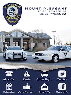 Mount Pleasant SC Police Dept.- screenshot thumbnail