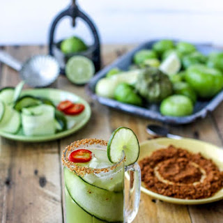 Verde Mary Cocktail (Gluten Free & Vegan)
