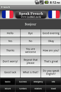 Speak French Free - screenshot thumbnail