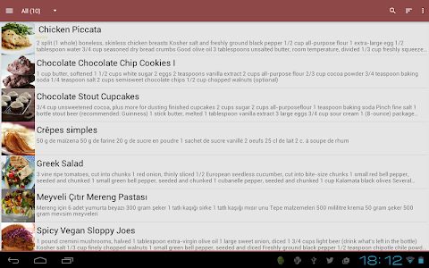 My CookBook (Recipe Manager) v4.14.12