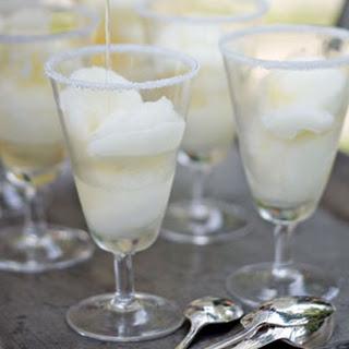 Lime Sorbet Margaritas.