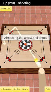 Carrom 3D- screenshot thumbnail