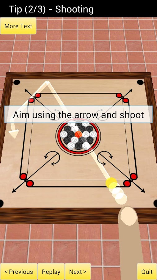 Carrom 3D - screenshot