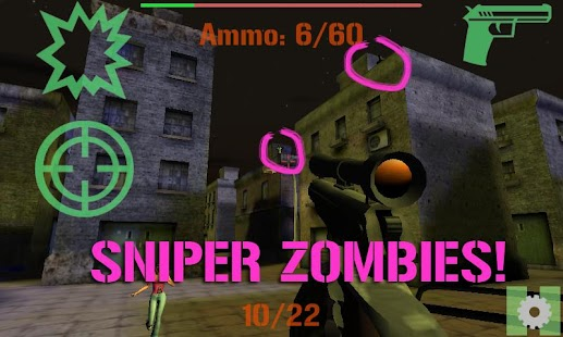 ELITE SNIPER: ZOMBIES- screenshot thumbnail