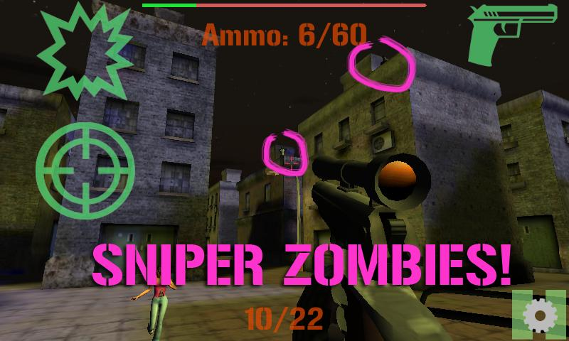 ELITE SNIPER: ZOMBIES- screenshot