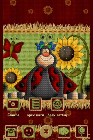 Apex GO Theme Cute Ladybugs