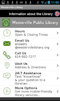 Screenshot of Westerville Public Library