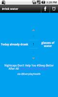 Screenshot of Drink Water Alarm