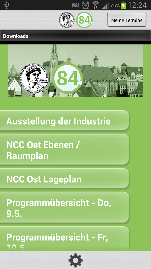 HNO Kongress - screenshot