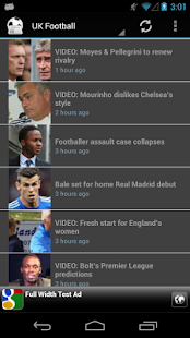 European Football News - screenshot thumbnail
