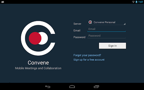 Azeus Convene Board Portal - screenshot thumbnail