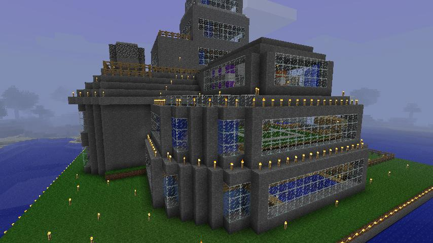 The Biggest House In The World In Minecraft best mansions of minecraft - android apps on google play