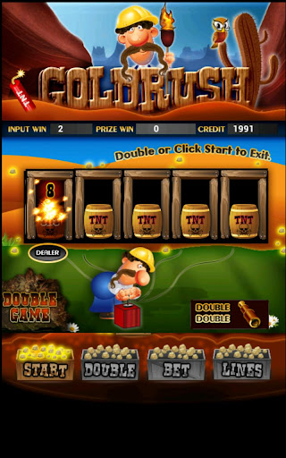 Gold Rush Slot Machine HD Screen Capture 2