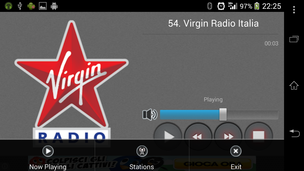 Radio Italia Fm - screenshot